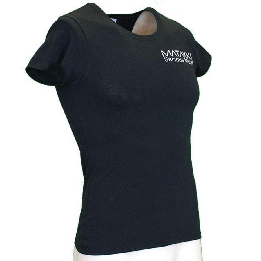 Immagine di Ladies Matakki Black T Shirt
