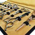 Afbeelding van Matakki Leather Scissor Case Holds 20 pcs