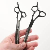 Picture of Excalibur Matte Black Professional Hair Cutting Scissors